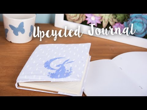 How to Upcycle Your Journal with Midnight Hare - Sizzix