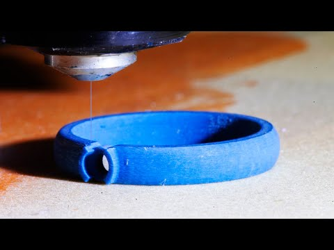 3D PRINTING DIAMOND WEDDING BANDS (Full process)