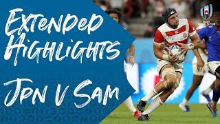 Full highlights of Japan v Samoa at Rugby World Cup 2019