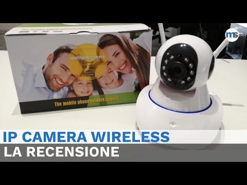 IP Camera Wireless   La Recensione