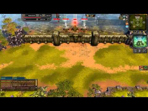 Battleforge PVP Replay #51 - FrozenRipper vs Lubli