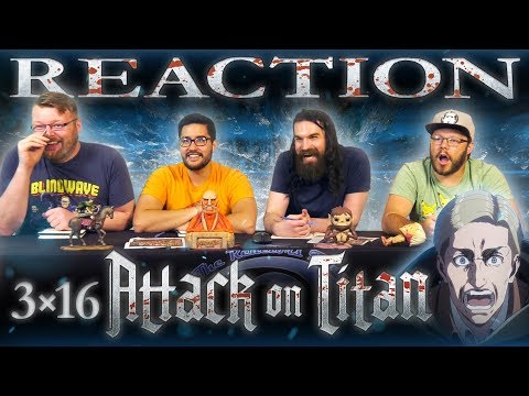 """Attack on Titan 3x16 REACTION!! """"Perfect Game"""""""