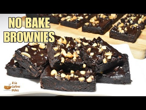 No Bake Brownies | How to make Brownies without oven | Negosyo Recipe