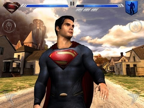 superman the man of steel xbox game