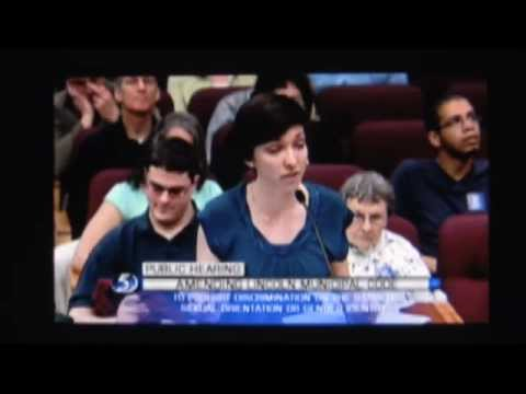 Lincoln LGBT Ordinance — Hannah Buell Video
