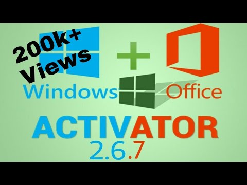 Download Microsoft toolkit 2.6 Windows and Office activator 2019