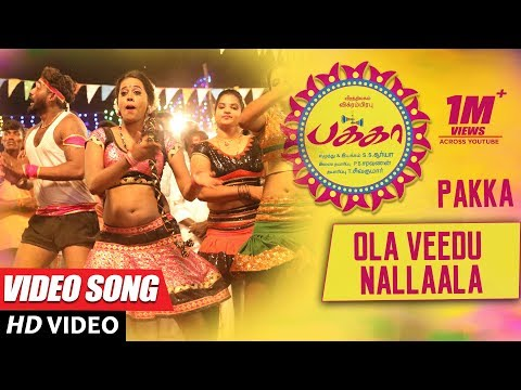 Download Ola Veedu Nallaala Full Video Song | Pakka Video Songs | Vikram Prabhu, Nikki Galrani, Bindu Madhavi HD Mp4 3GP Video and MP3
