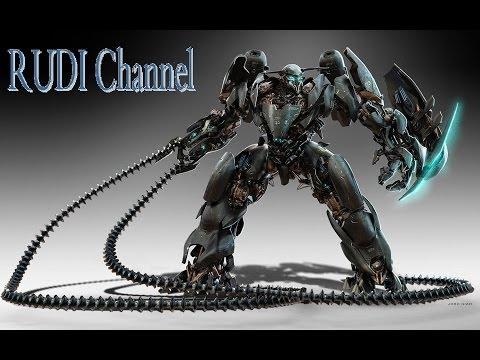 Rudi атакует Города - симулятор робота уничтожителя