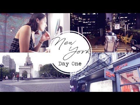 HELLO NYC & BITE BEAUTY LIP LAB! || NEW YORK DAY 1