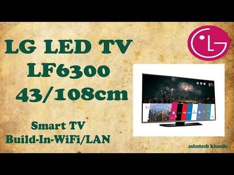 LG LF6300 LED TV 43