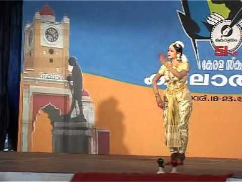 Aishwarya in School Kalolsavam51 at Kottayam-Bharatanatyam(Classical Dance)