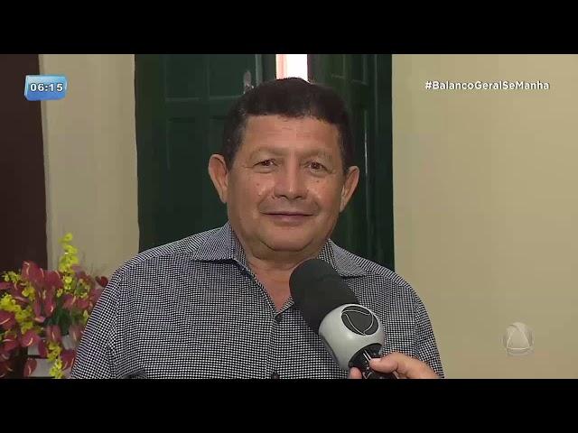 Assista: agredido, Carlos Ferreira foi na SSP pedir proteção