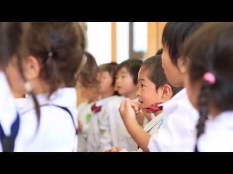 大袋幼稚園 年少さん英語の時間