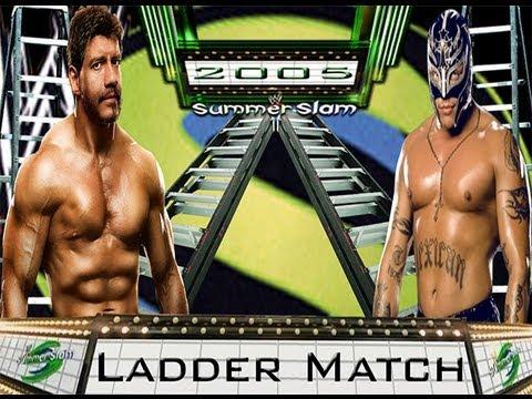 WWE '13: Rey Mysterio vs Eddie Guerrero- Ladder Match (SummerSlam Flashback)