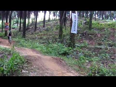 Downhill race at Putrajaya Challenge Park (PCP) track