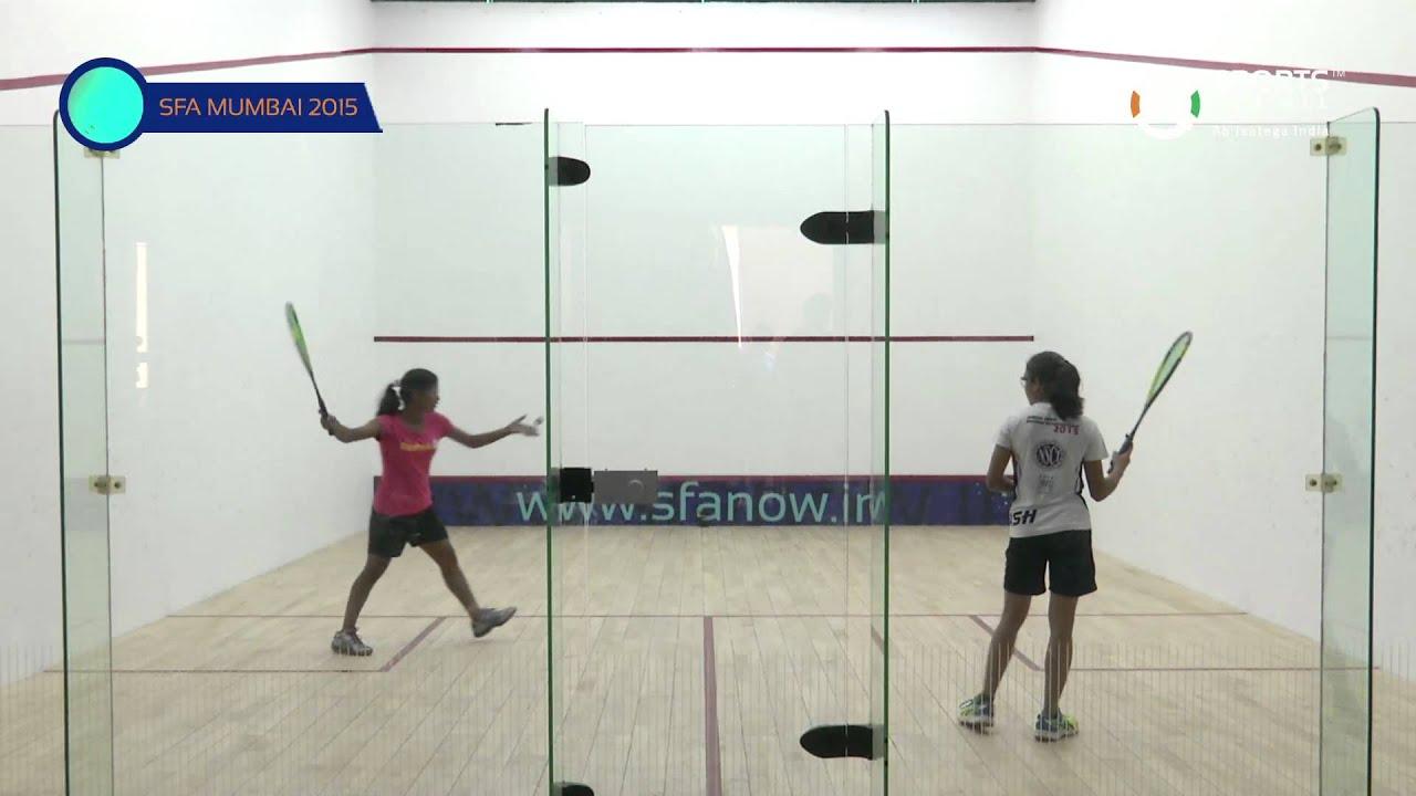 SFA Mumbai 2015 | Squash | Sunita Patel Vs Anjali Semwal | U15 | Girls | S/F