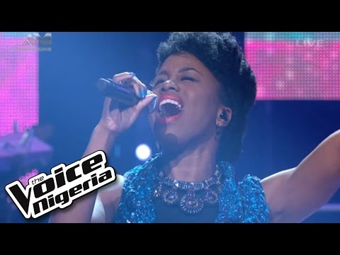"A'rese sings ""Down"" / Live Show / The Voice Nigeria 2016"