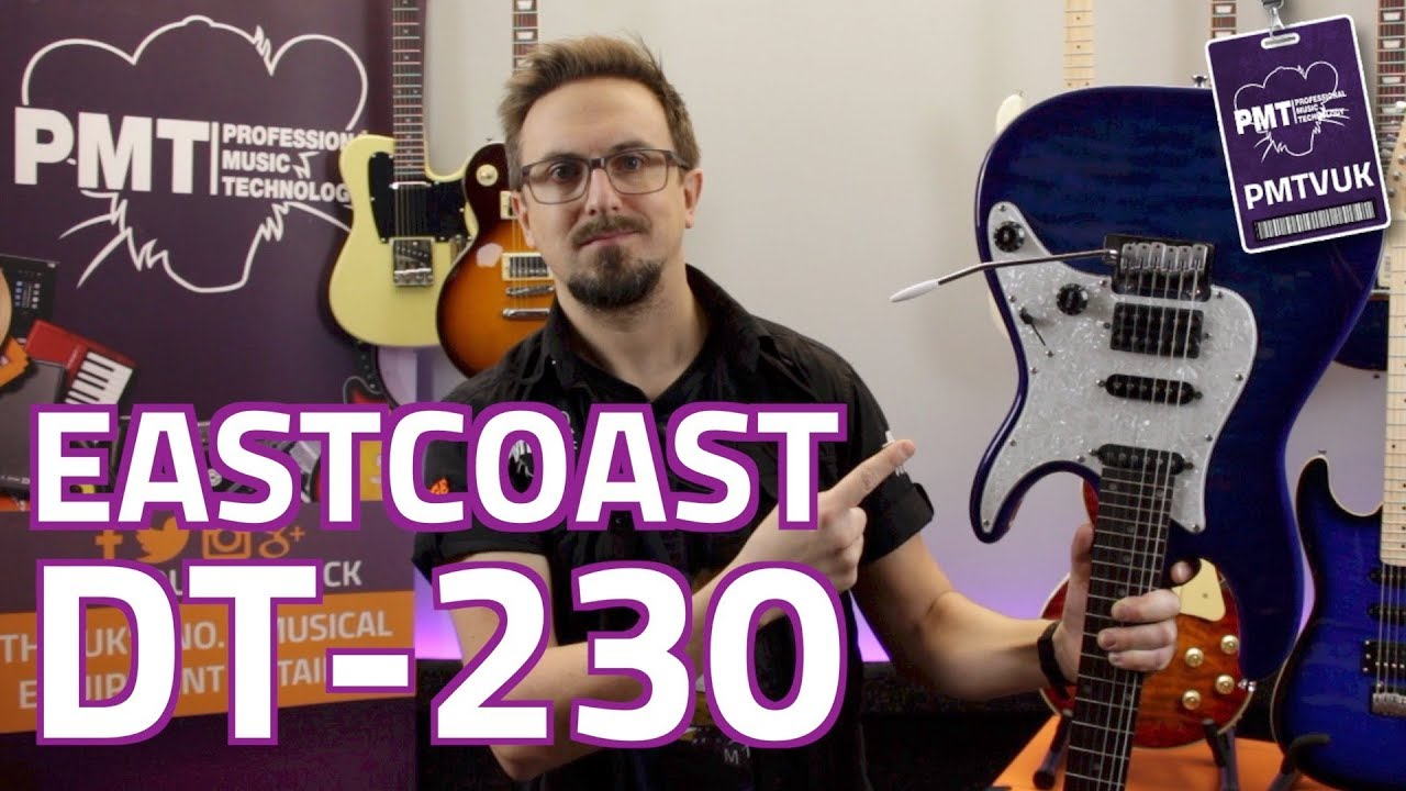 Eastcoast DT230 HSS Electric Guitar – Review & Demo