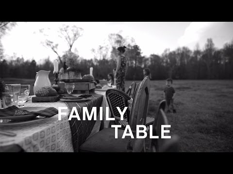Family Table Lyric Video