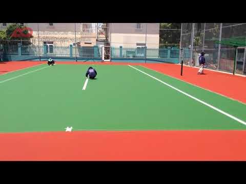 Quy trình sơn line sân tennis theo tiêu chuẩn USA - AnhQui 02
