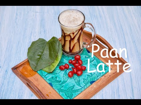 Chocolate Paan Latte
