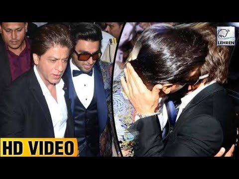 Shah Rukh Khan And Ranveer Singh's Bromance At Hal