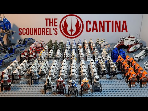 The Scoundrel's Cantina LEGO Star Wars Clone Army 2020 - Showcase