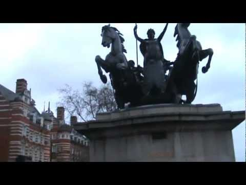 Boudica Statue- Part 1 of 2 (HPANWO London Truth Tours- Part 6)