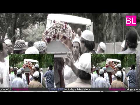 Sajid-Wajid's father passes away: view funeral pic
