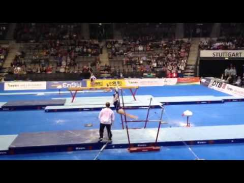 Aliya Mustafina(RUS) UB - 2012 Stuttgart World Cup Team Finals