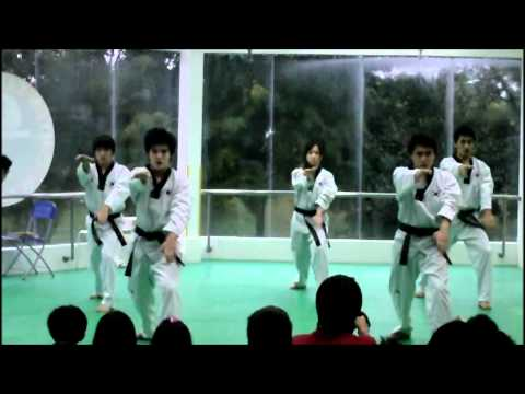 540 - Awesome movements by instructors from Hyun Taekwondo Academy Singapore.