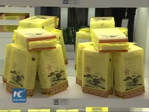China starts rice imports from Laos