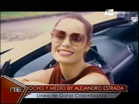 Ocho y medio by Alejandro Estrada línea de gafas colombianas