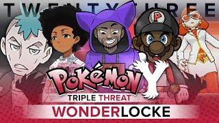 Pokémon Y Triple Threat Wonderlocke - Ep 23 N!GGAS DON'T LISTEN!! by King Nappy