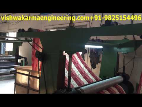 Fabric Male Female Embossing Machine