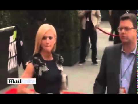 MTV Movie Awards 2013- Kim Kardashian rocks the red carpet in stylish black - Mail Online