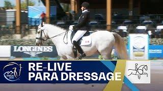RE-LIVE Para-Dressage – Grade I Team   FEI World Equestrian Games 2018