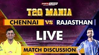 Chennai vs Rajasthan T20   Live Scores and Analysis   SportsFlashes
