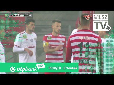 17. forduló: DVTK - Kisvárda 1-1 (1-1)