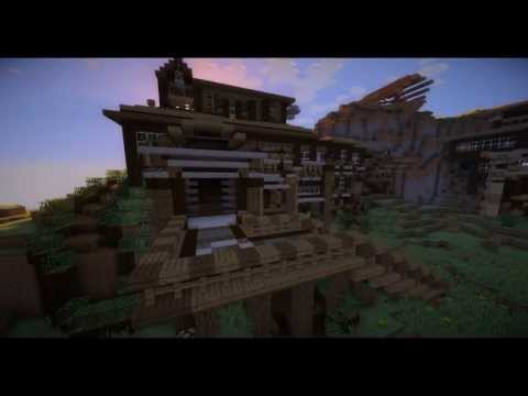 Amazing minecraft modern cinematic house minecraft project for Amazing modern houses minecraft
