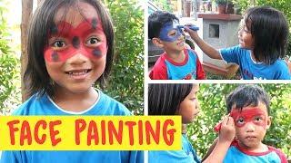 Download Video Lucu anak-anak corat-coret melukis wajah (Face Painting  bagian 1) MP3 3GP MP4