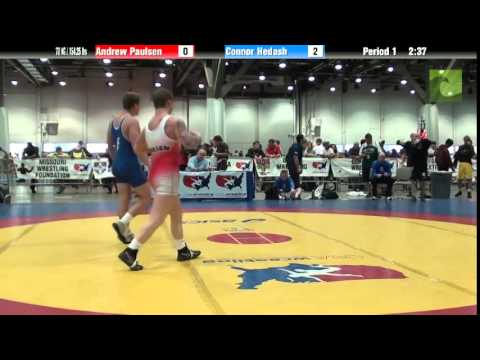 Men 70 KG / 154.25 lbs – Andrew Paulsen vs. Connor Hedash