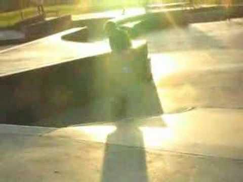 October Skateboarding at Springfield Skatepark