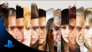 Video FINAL FANTASY XV - Announcement Trailer | E3 2013 MP3, 3GP, MP4, WEBM, AVI, FLV Desember 2018