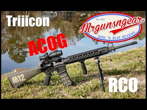 Trijicon TA31RCO Scope Review: The ACOG Used By The USMC & US Army (HD)