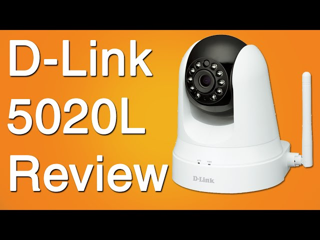 D Link DCS-5020L IP Camera Video Review