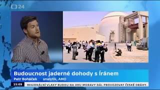 Írán chce do konce května od EU ekonomické návrhy, které vyváží odstoupení USA od dohody
