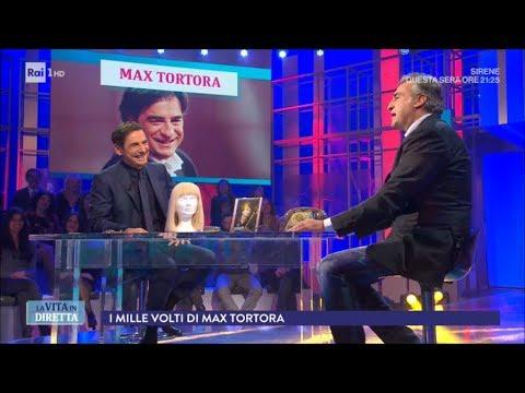 I mille volti di Max Tortora - La Vita in Diretta 23/11/2017