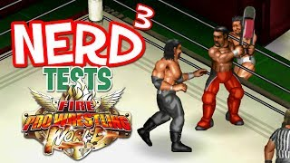 Two Point Nine.Game Link: http://store.steampowered.com/app/564230/Fire_Pro_Wrestling_World/Nerd³ Site: http://nerdcubed.co.ukNerd³ Patreon: https://www.patreon.com/nerdcubedEnd theme by Dan Bull: http://www.youtube.com/user/douglbyDad³ Channel: http://www.youtube.com/user/OfficialDadCubedToy Channel: http://www.youtube.com/user/OfficiallynerdcubedTwitch: http://www.twitch.tv/nerdcubedTwitter: https://twitter.com/DannerdcubedMerch!Things: http://www.gametee.co.uk/category/nerdcubedOther Things: https://store.dftba.com/collections/nerdcubedJunk Things: https://shop.spreadshirt.co.uk/nerdcubed/