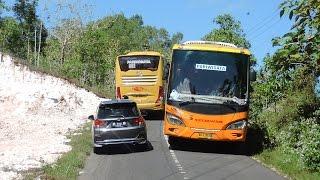 Video Naik bus di jalur EKSTREM menuju pantai Gunungkidul part 2 MP3, 3GP, MP4, WEBM, AVI, FLV Mei 2019